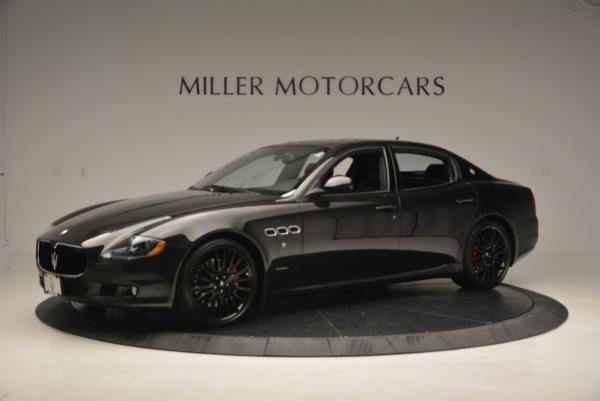 Used 2011 Maserati Quattroporte Sport GT S for sale Sold at Bentley Greenwich in Greenwich CT 06830 2