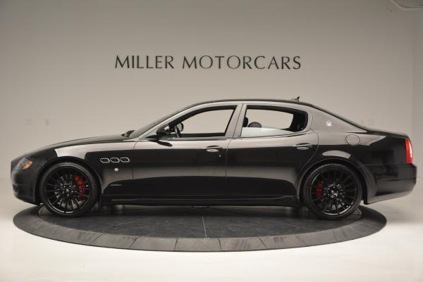 Used 2011 Maserati Quattroporte Sport GT S for sale Sold at Bentley Greenwich in Greenwich CT 06830 3