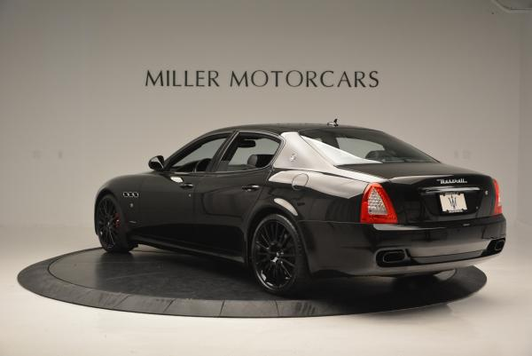 Used 2011 Maserati Quattroporte Sport GT S for sale Sold at Bentley Greenwich in Greenwich CT 06830 5