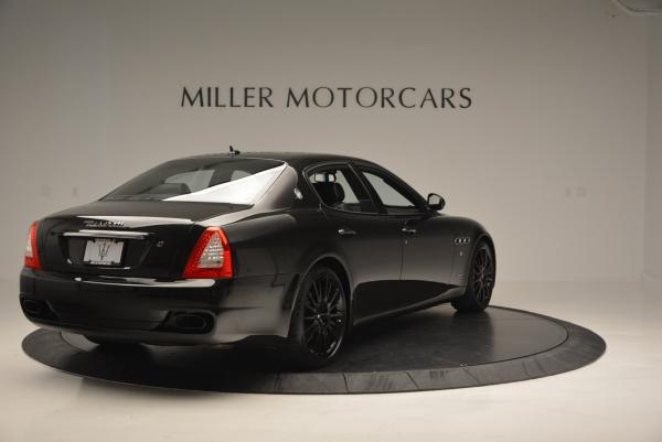 Used 2011 Maserati Quattroporte Sport GT S for sale Sold at Bentley Greenwich in Greenwich CT 06830 7