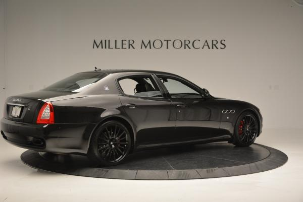 Used 2011 Maserati Quattroporte Sport GT S for sale Sold at Bentley Greenwich in Greenwich CT 06830 8