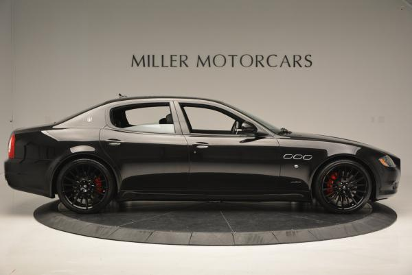 Used 2011 Maserati Quattroporte Sport GT S for sale Sold at Bentley Greenwich in Greenwich CT 06830 9