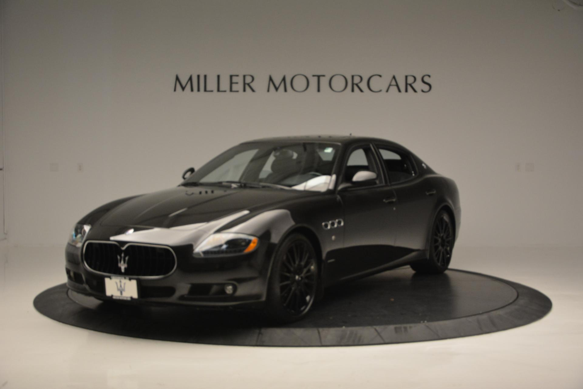 Used 2011 Maserati Quattroporte Sport GT S for sale Sold at Bentley Greenwich in Greenwich CT 06830 1
