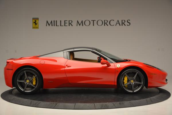 Used 2013 Ferrari 458 Spider for sale Sold at Bentley Greenwich in Greenwich CT 06830 21