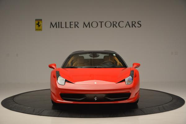 Used 2013 Ferrari 458 Spider for sale Sold at Bentley Greenwich in Greenwich CT 06830 24