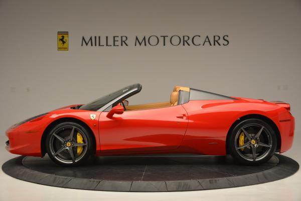 Used 2013 Ferrari 458 Spider for sale Sold at Bentley Greenwich in Greenwich CT 06830 3