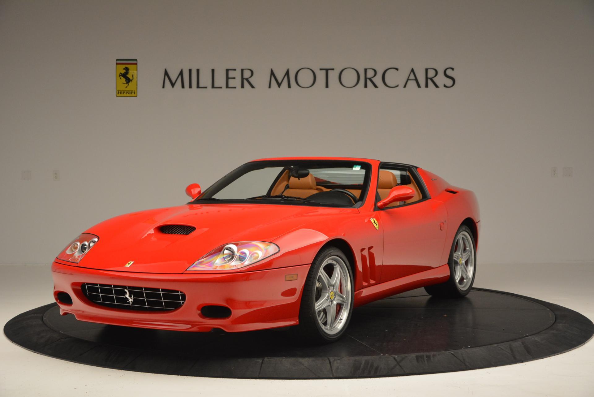Used 2005 Ferrari Superamerica for sale Sold at Bentley Greenwich in Greenwich CT 06830 1