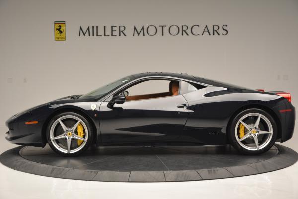 Used 2010 Ferrari 458 Italia for sale Sold at Bentley Greenwich in Greenwich CT 06830 3