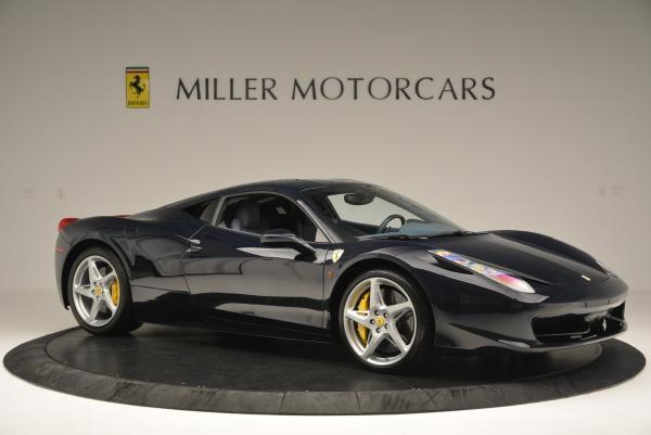 Used 2012 Ferrari 458 Italia for sale Sold at Bentley Greenwich in Greenwich CT 06830 10