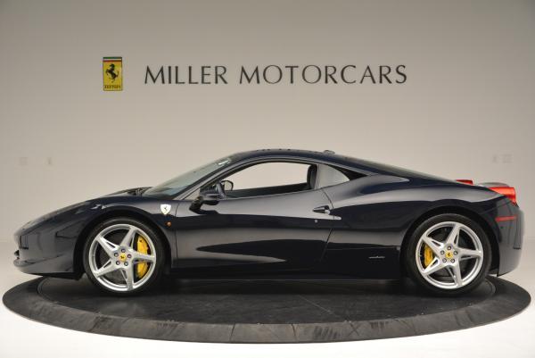 Used 2012 Ferrari 458 Italia for sale Sold at Bentley Greenwich in Greenwich CT 06830 3