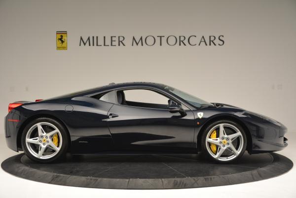 Used 2012 Ferrari 458 Italia for sale Sold at Bentley Greenwich in Greenwich CT 06830 9