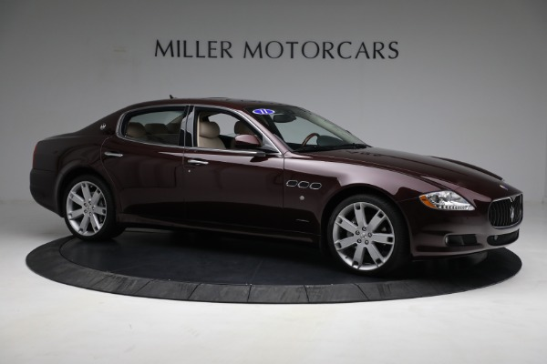 Used 2011 Maserati Quattroporte for sale Sold at Bentley Greenwich in Greenwich CT 06830 11