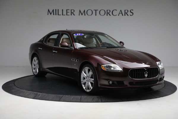 Used 2011 Maserati Quattroporte for sale Sold at Bentley Greenwich in Greenwich CT 06830 12