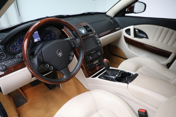 Used 2011 Maserati Quattroporte for sale Sold at Bentley Greenwich in Greenwich CT 06830 14