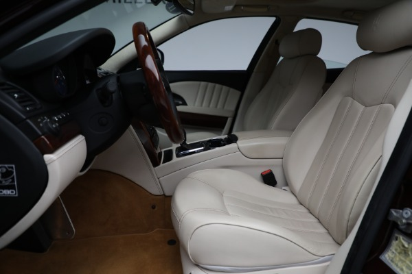 Used 2011 Maserati Quattroporte for sale Sold at Bentley Greenwich in Greenwich CT 06830 15