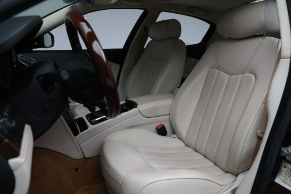 Used 2011 Maserati Quattroporte for sale Sold at Bentley Greenwich in Greenwich CT 06830 16