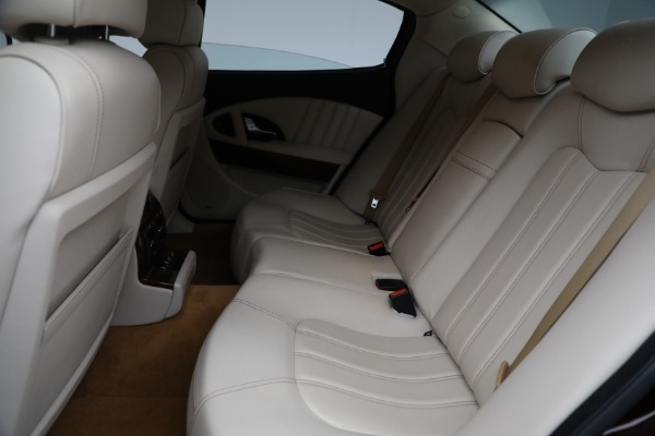 Used 2011 Maserati Quattroporte for sale Sold at Bentley Greenwich in Greenwich CT 06830 19