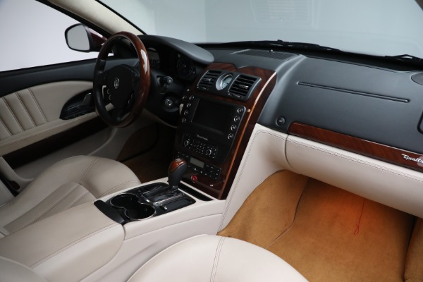Used 2011 Maserati Quattroporte for sale Sold at Bentley Greenwich in Greenwich CT 06830 22
