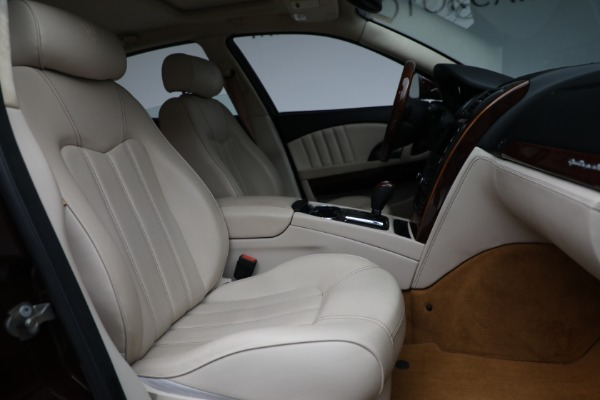 Used 2011 Maserati Quattroporte for sale Sold at Bentley Greenwich in Greenwich CT 06830 23