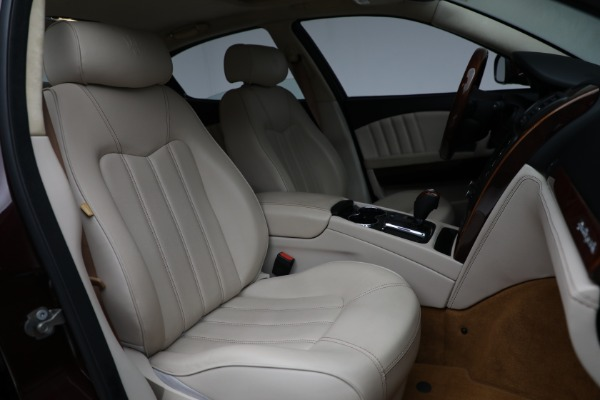 Used 2011 Maserati Quattroporte for sale Sold at Bentley Greenwich in Greenwich CT 06830 24