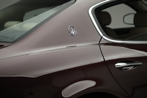 Used 2011 Maserati Quattroporte for sale Sold at Bentley Greenwich in Greenwich CT 06830 26