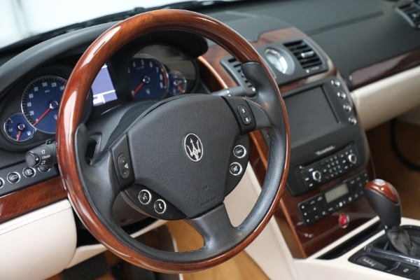 Used 2011 Maserati Quattroporte for sale Sold at Bentley Greenwich in Greenwich CT 06830 27