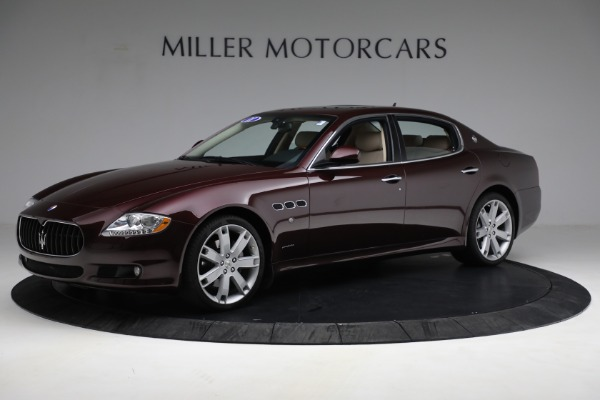 Used 2011 Maserati Quattroporte for sale Sold at Bentley Greenwich in Greenwich CT 06830 3