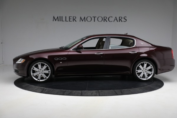 Used 2011 Maserati Quattroporte for sale Sold at Bentley Greenwich in Greenwich CT 06830 4