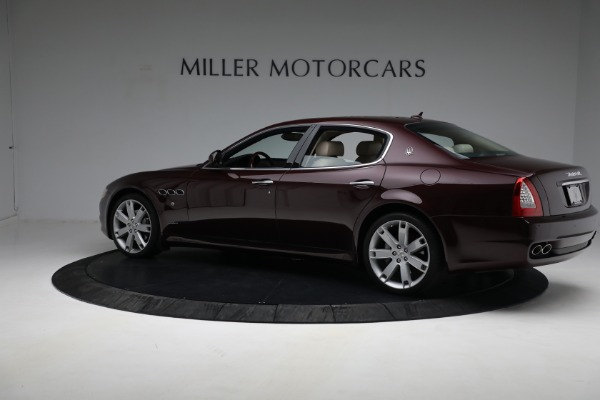 Used 2011 Maserati Quattroporte for sale Sold at Bentley Greenwich in Greenwich CT 06830 5