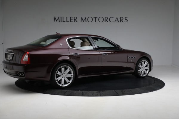 Used 2011 Maserati Quattroporte for sale Sold at Bentley Greenwich in Greenwich CT 06830 9