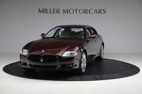 Used 2011 Maserati Quattroporte for sale Sold at Bentley Greenwich in Greenwich CT 06830 1
