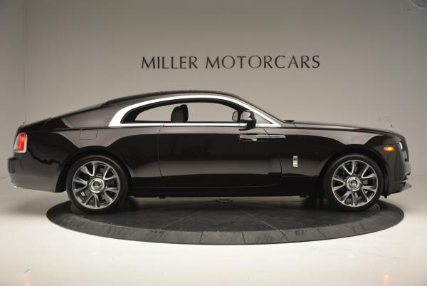 Used 2017 Rolls-Royce Wraith for sale Sold at Bentley Greenwich in Greenwich CT 06830 8