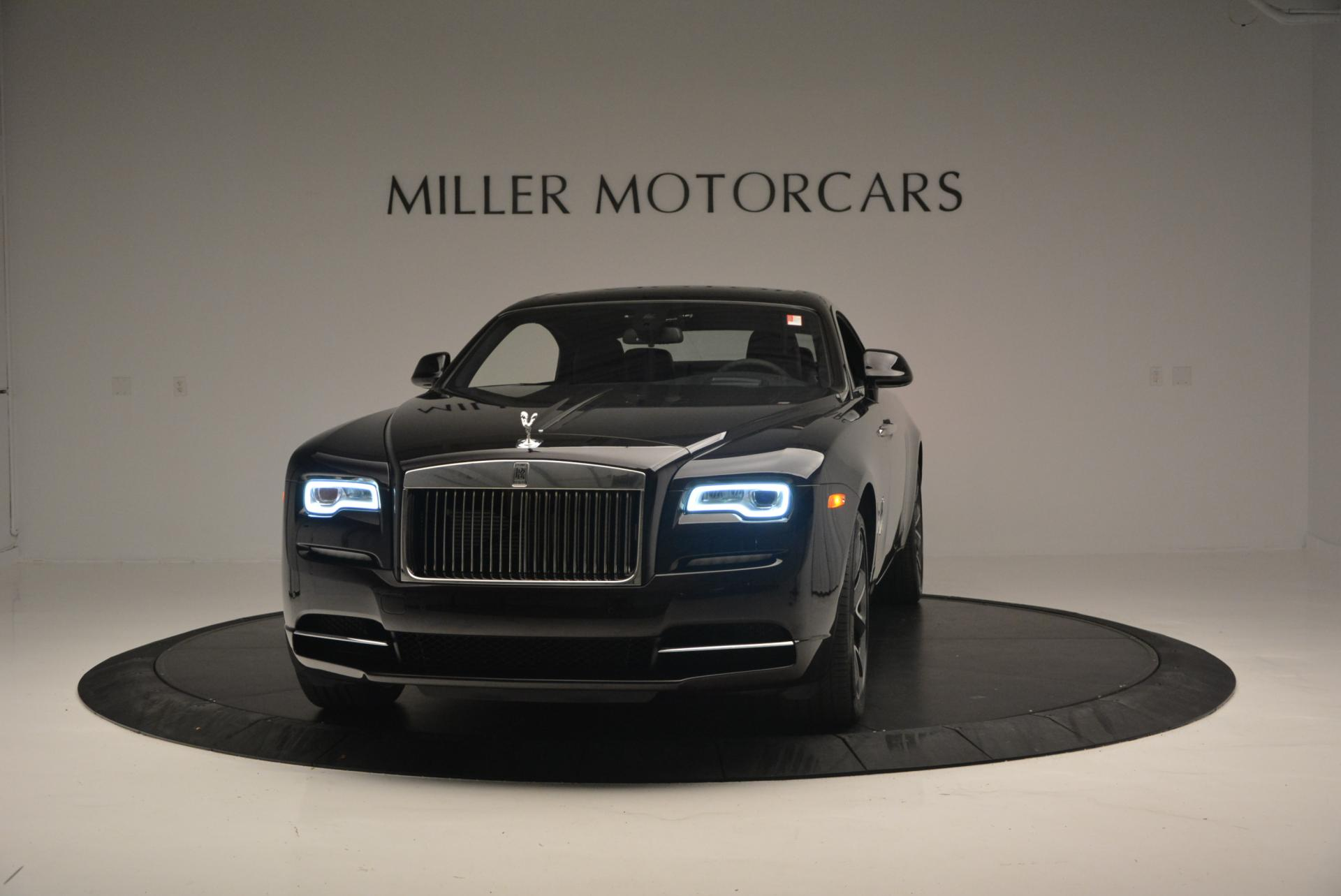 Used 2017 Rolls-Royce Wraith for sale Sold at Bentley Greenwich in Greenwich CT 06830 1