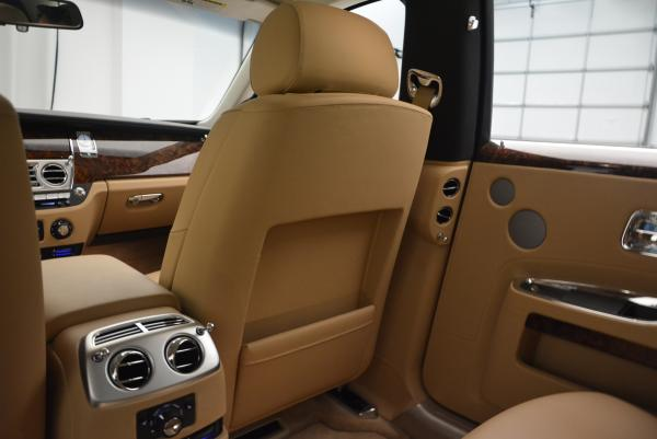 Used 2013 Rolls-Royce Ghost for sale Sold at Bentley Greenwich in Greenwich CT 06830 27
