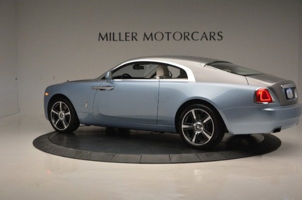 Used 2015 Rolls-Royce Wraith for sale Sold at Bentley Greenwich in Greenwich CT 06830 4