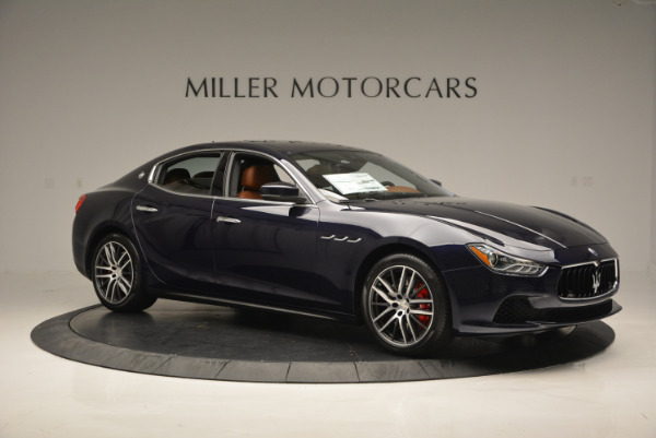 Used 2017 Maserati Ghibli S Q4 - EX Loaner for sale Sold at Bentley Greenwich in Greenwich CT 06830 10