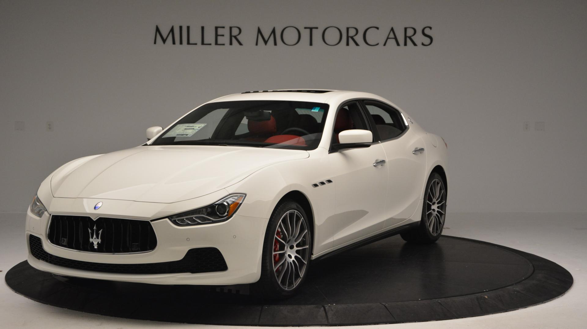 New 2016 Maserati Ghibli S Q4 for sale Sold at Bentley Greenwich in Greenwich CT 06830 1