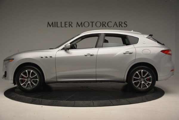 New 2017 Maserati Levante 350hp for sale Sold at Bentley Greenwich in Greenwich CT 06830 3