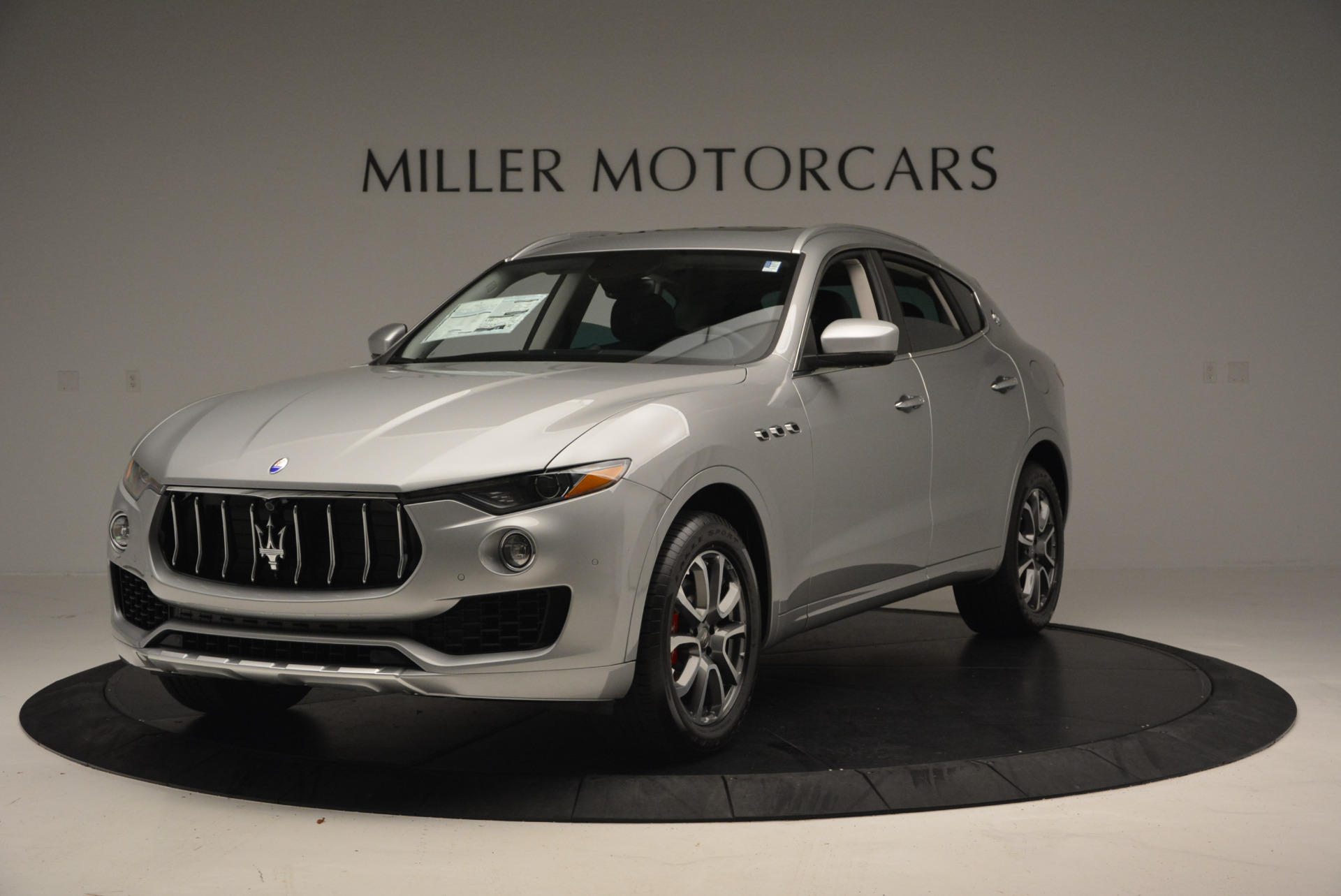 New 2017 Maserati Levante 350hp for sale Sold at Bentley Greenwich in Greenwich CT 06830 1