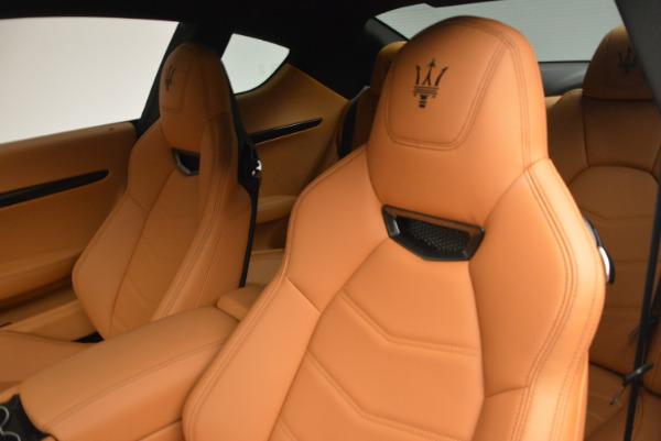 New 2017 Maserati GranTurismo Sport for sale Sold at Bentley Greenwich in Greenwich CT 06830 15