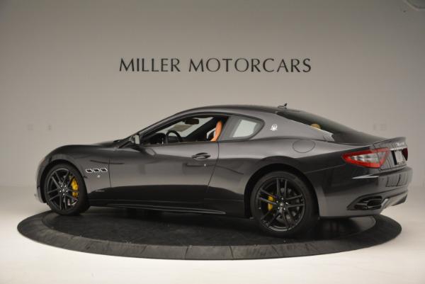 New 2017 Maserati GranTurismo Sport for sale Sold at Bentley Greenwich in Greenwich CT 06830 4