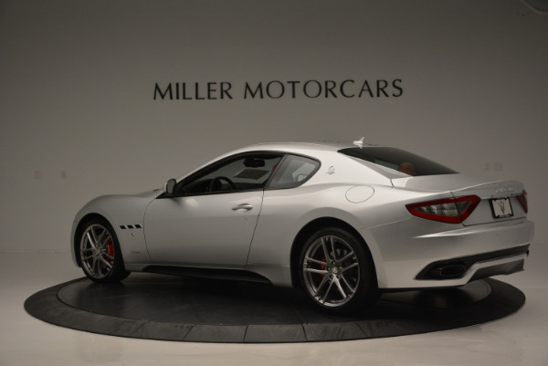 New 2017 Maserati GranTurismo Sport for sale Sold at Bentley Greenwich in Greenwich CT 06830 4