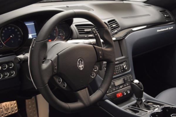New 2017 Maserati GranTurismo Sport for sale Sold at Bentley Greenwich in Greenwich CT 06830 21