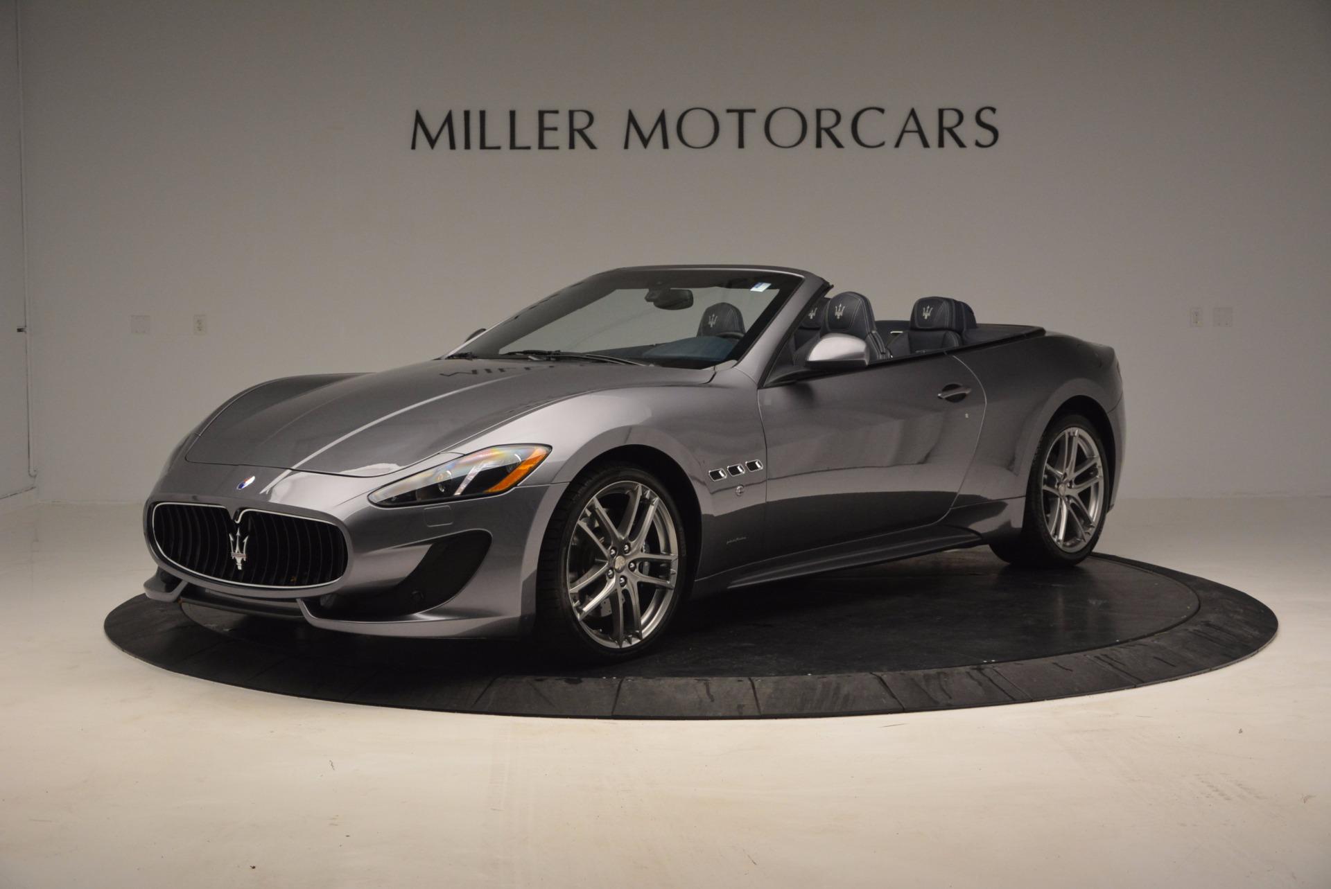 New 2017 Maserati GranTurismo Sport for sale Sold at Bentley Greenwich in Greenwich CT 06830 1
