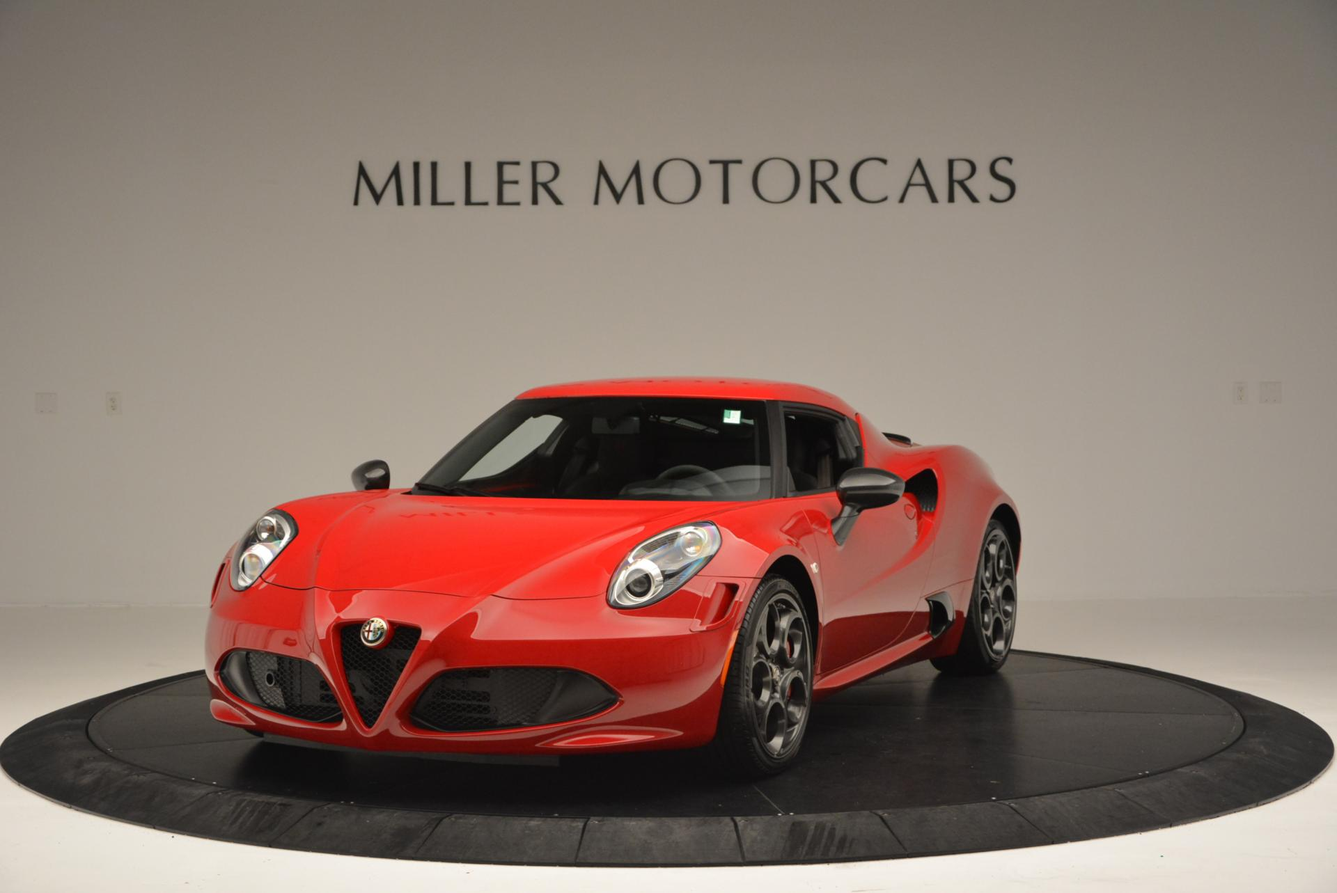 Used 2015 Alfa Romeo 4C Launch Edition for sale Sold at Bentley Greenwich in Greenwich CT 06830 1
