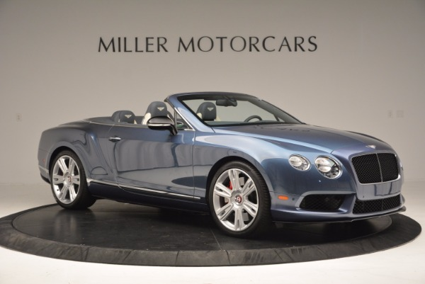 Used 2014 Bentley Continental GT V8 S Convertible for sale Sold at Bentley Greenwich in Greenwich CT 06830 10