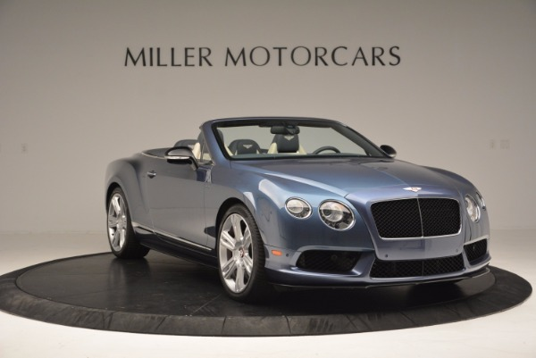 Used 2014 Bentley Continental GT V8 S Convertible for sale Sold at Bentley Greenwich in Greenwich CT 06830 11