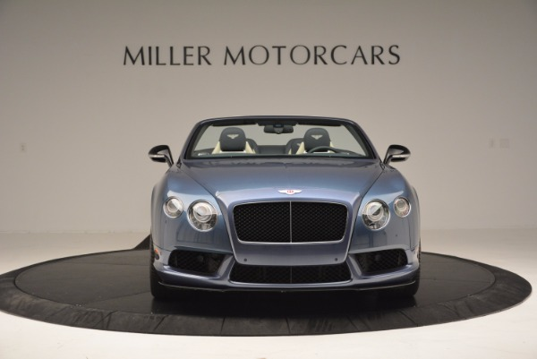 Used 2014 Bentley Continental GT V8 S Convertible for sale Sold at Bentley Greenwich in Greenwich CT 06830 12