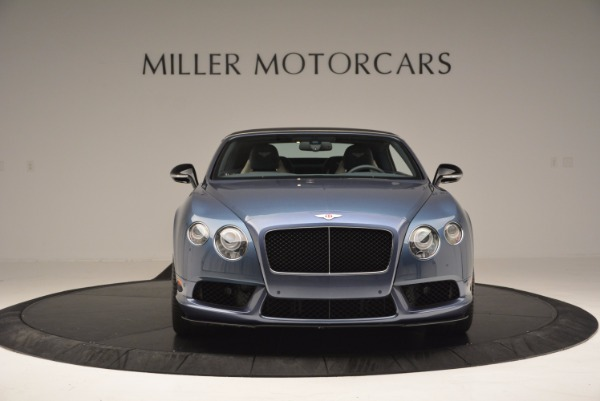 Used 2014 Bentley Continental GT V8 S Convertible for sale Sold at Bentley Greenwich in Greenwich CT 06830 13