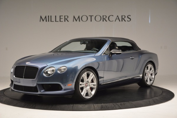 Used 2014 Bentley Continental GT V8 S Convertible for sale Sold at Bentley Greenwich in Greenwich CT 06830 14